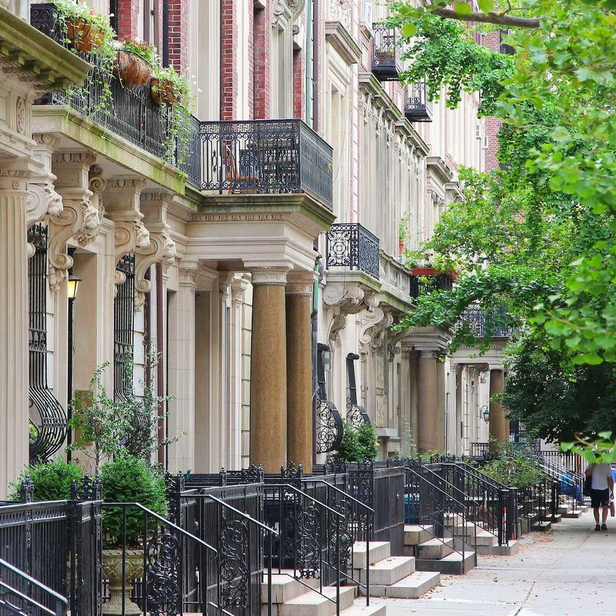 Vecindario Upper West Side en Nueva York
