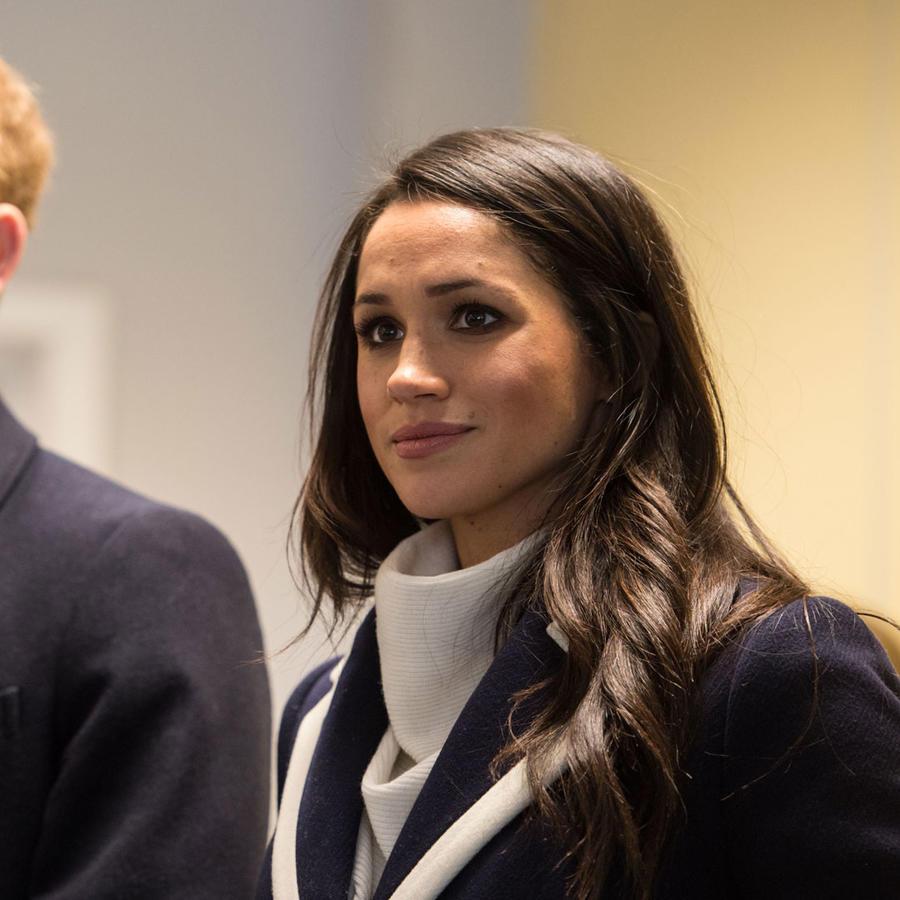 El príncipe Harry y su prometida Meghan Markle.