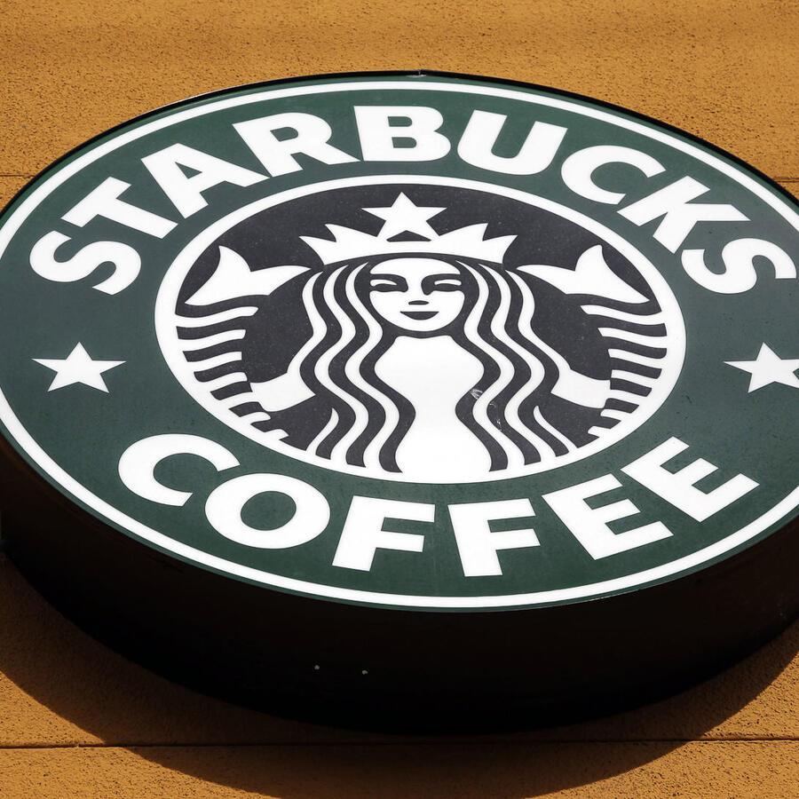 El logo de Starbucks Coffe.