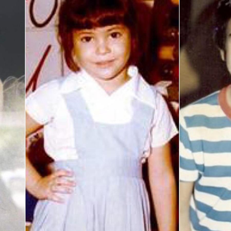 J Balvin, Shakira y Luis Fonsi de niños