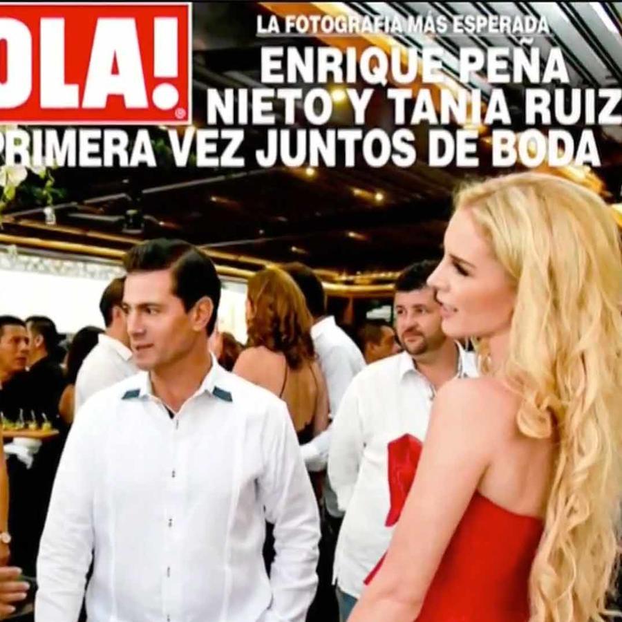 Enrique Peña Nieto y Tania Ruiz