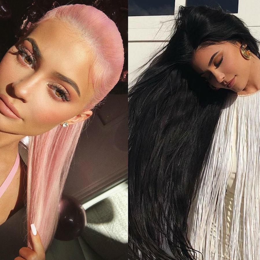 Cambios de look de Kylie Jenner