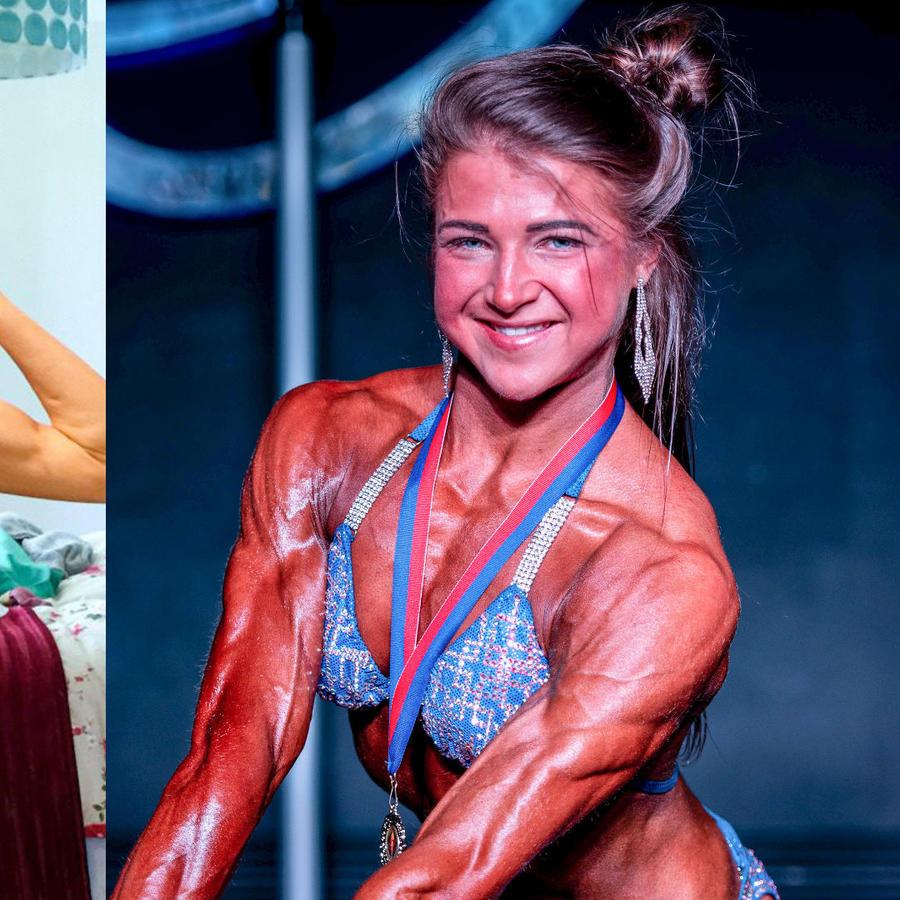 Emily Brand fisicoculturista y sobreviviente de anorexia