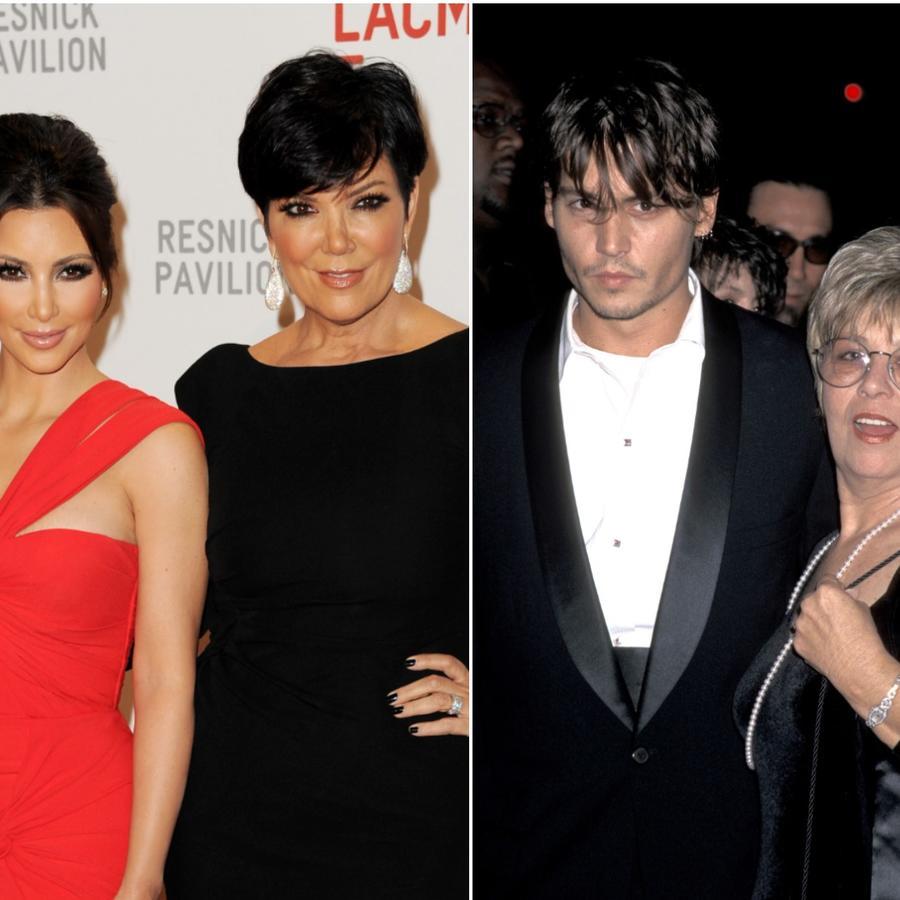 Kaia Gerber, Kim Kardashian y Johnny Depp