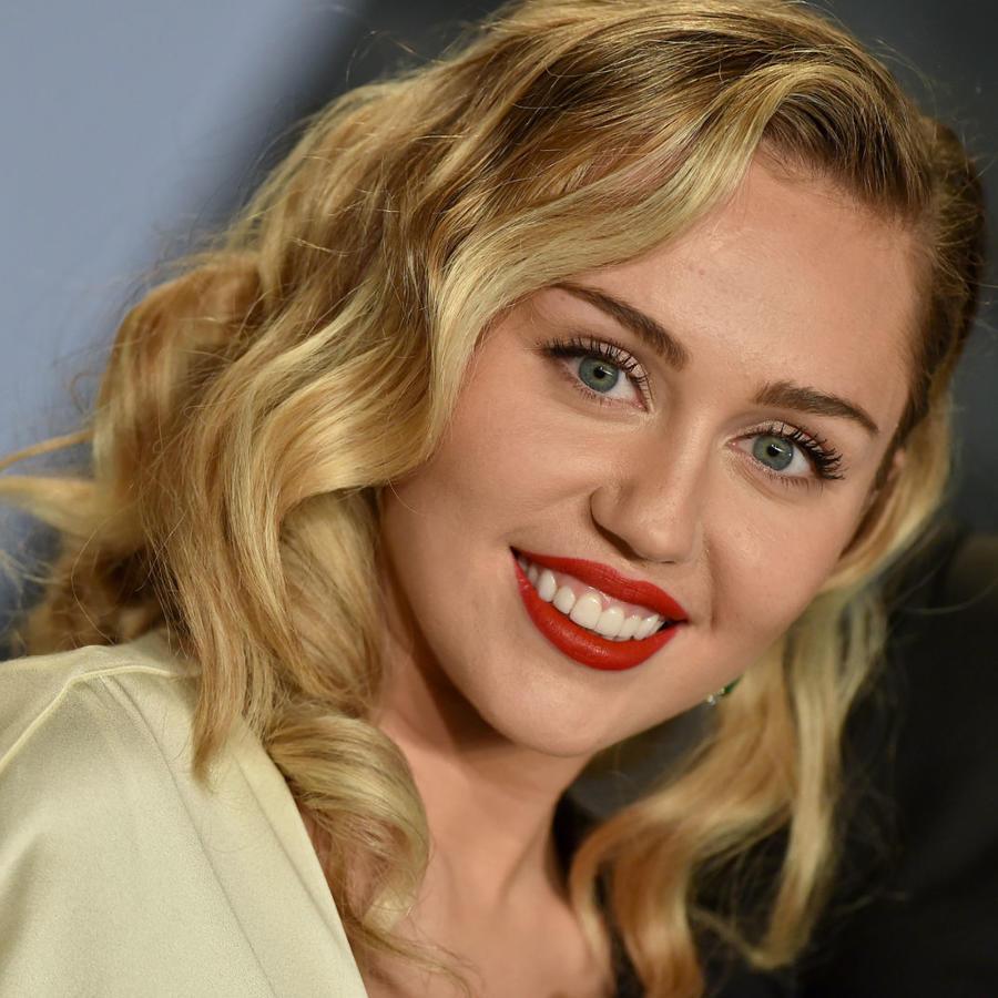 Miley Cyrus en la fiesta de Vanity Fair 2018