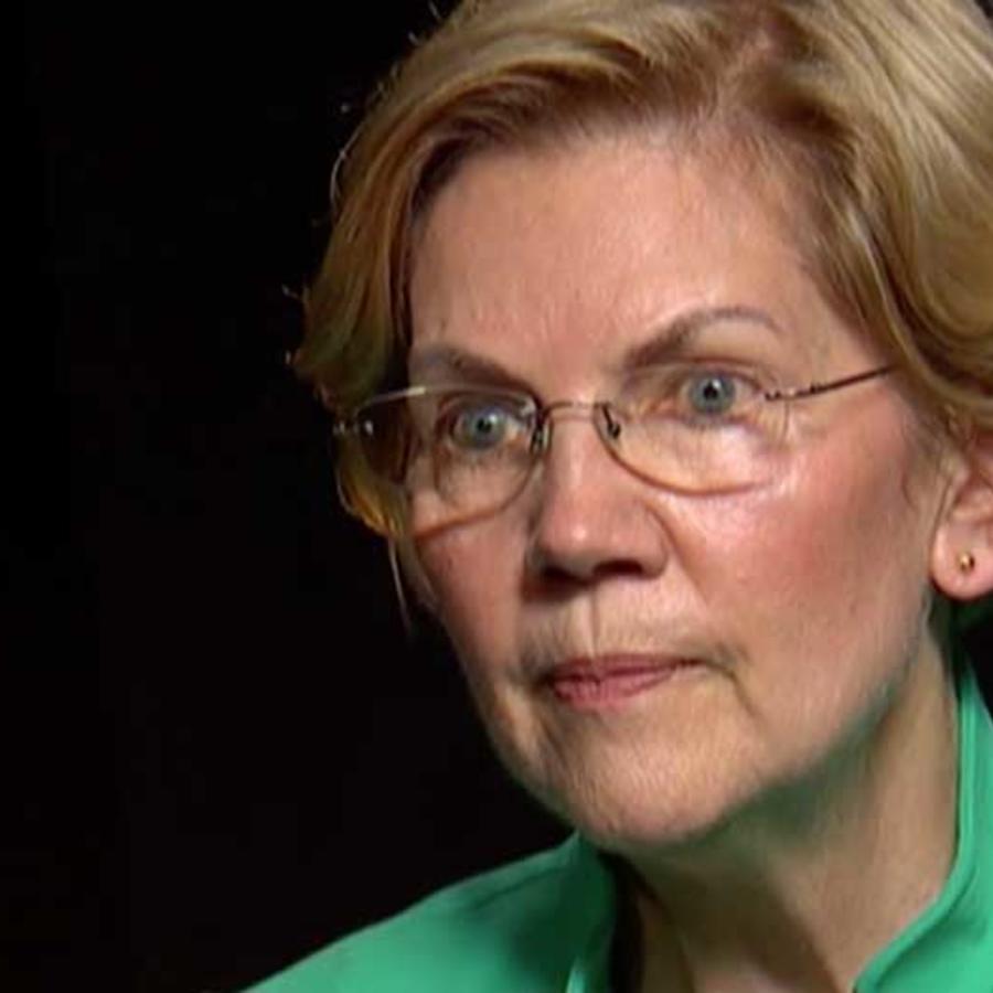 La precandidata demócrata a la presidencia Elizabeth Warren en entrevista con Noticias Telemundo