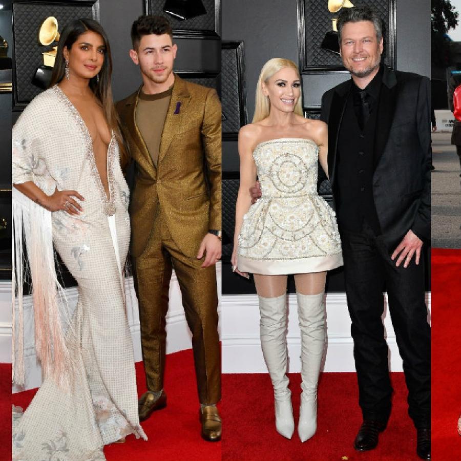 Luis Fonsi, Priyanka Chopra, Nick Jonas, Gwen Stefani, Blake Shelton y Rosalía