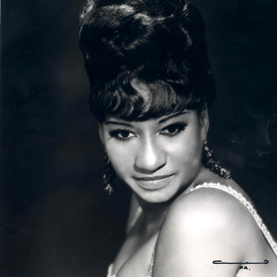 Celia Cruz foto del año 1960