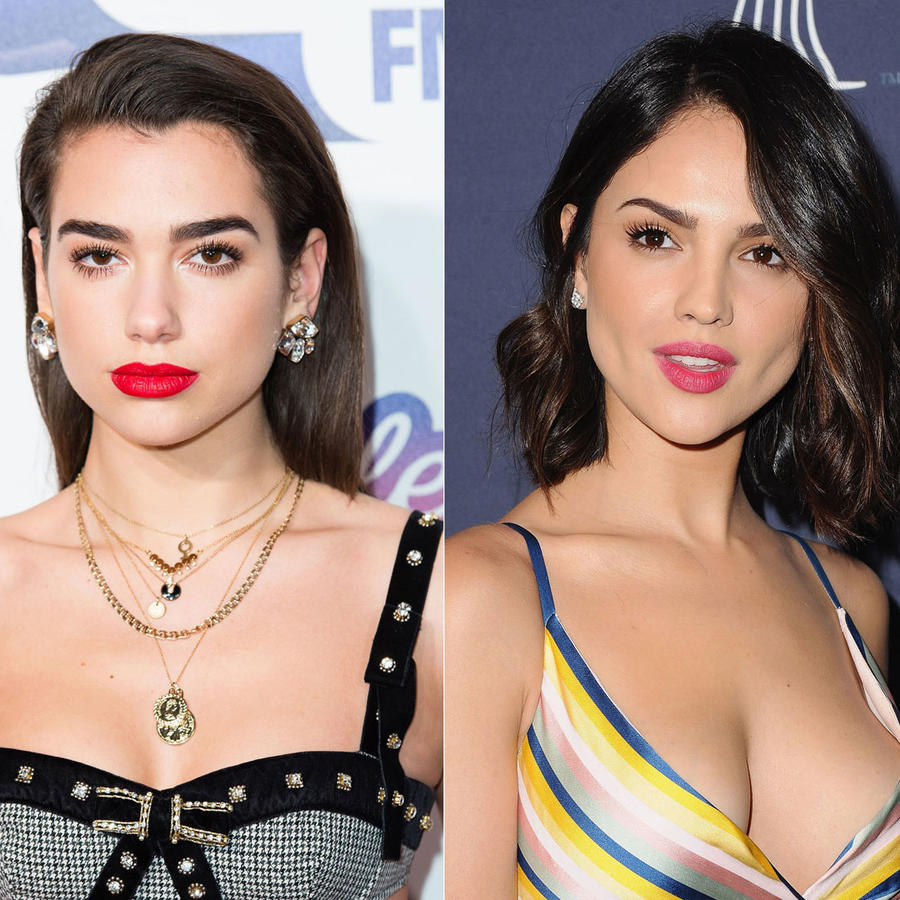 Maquillaje Dua Lipa, Eiza González y Saoirse Ronan