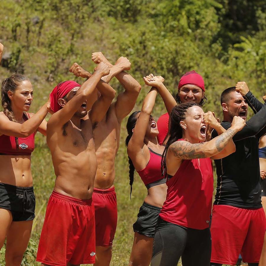 Team Famosos celebra su segundo triunfo