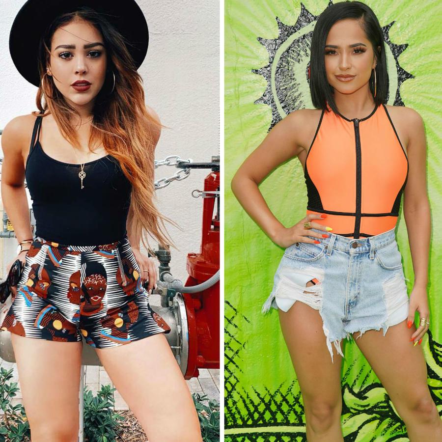 Karol G, Danna Paola y Becky G
