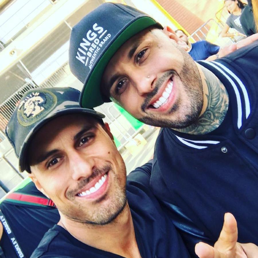 Esteban Castañeda y Nicky Jam