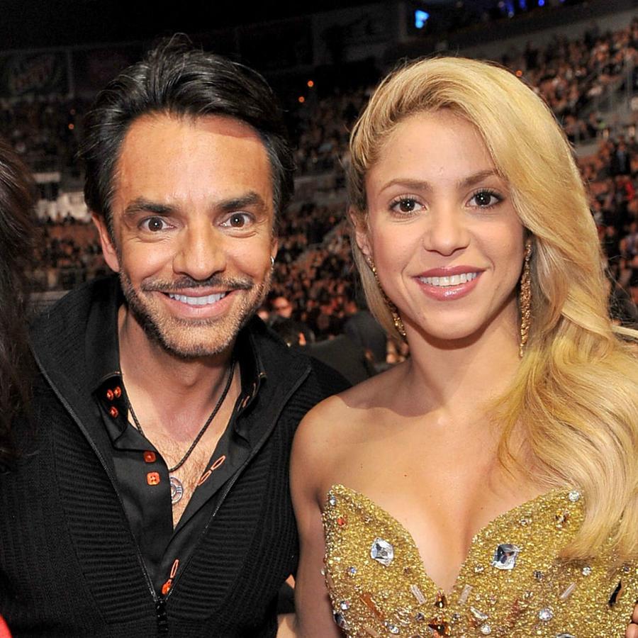 Alessandra Rosaldo, Eugenio Derbez y Shakira