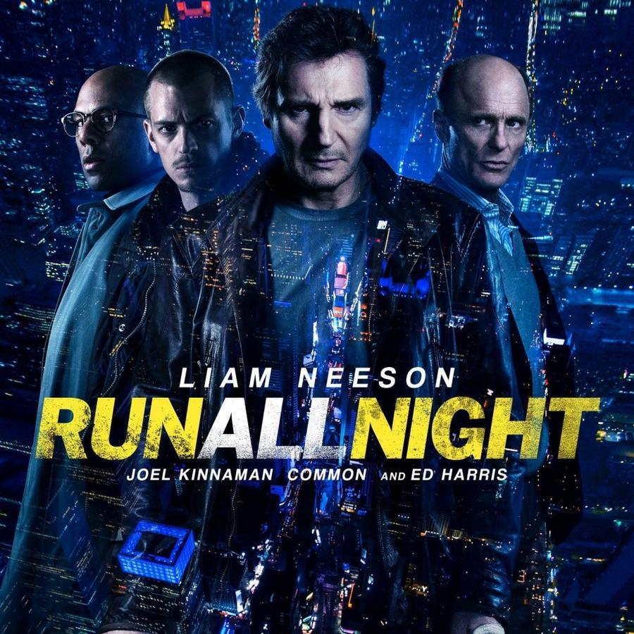 Póster de Run All Night.