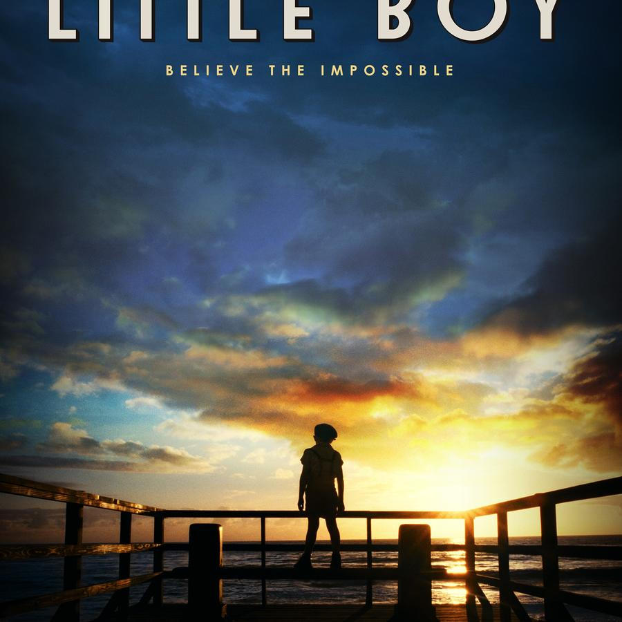 "Póster de la película ""Little Boy""."