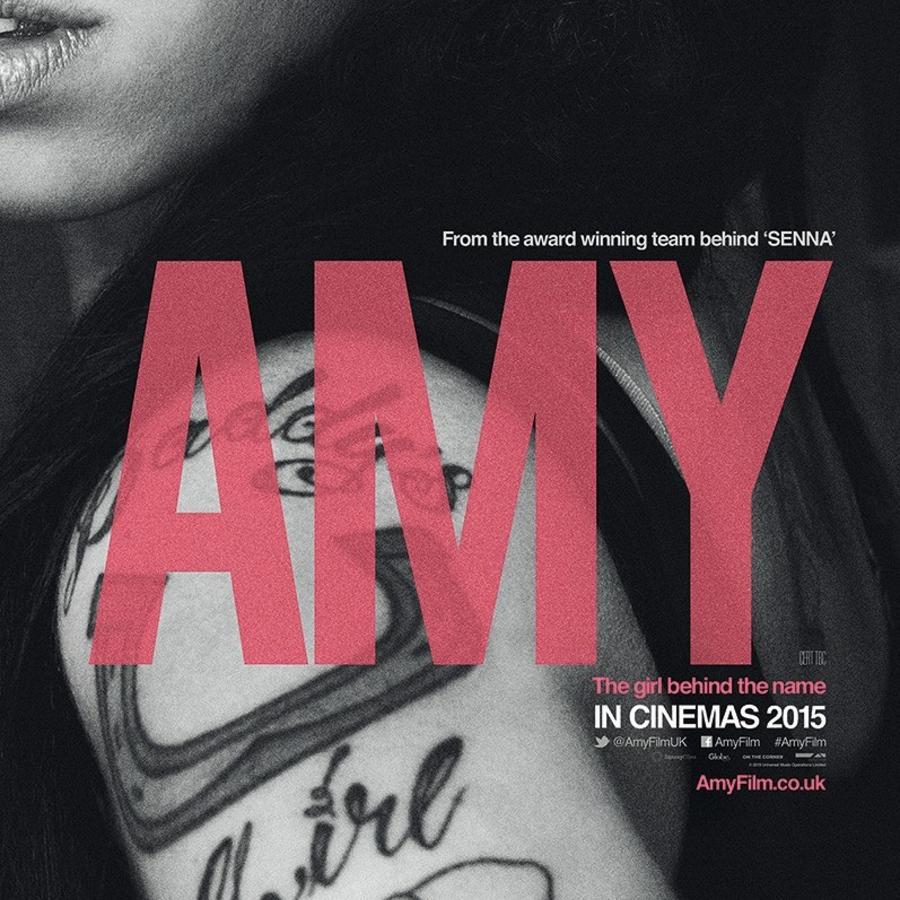 "Póster de la película ""Amy""."