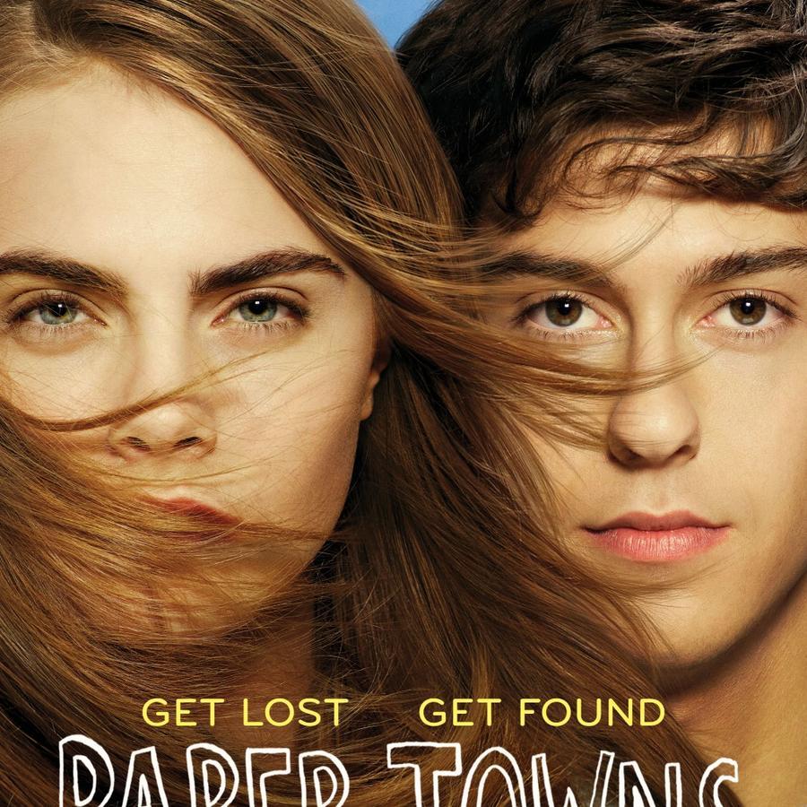 "Póster de la película ""Paper Towns""."
