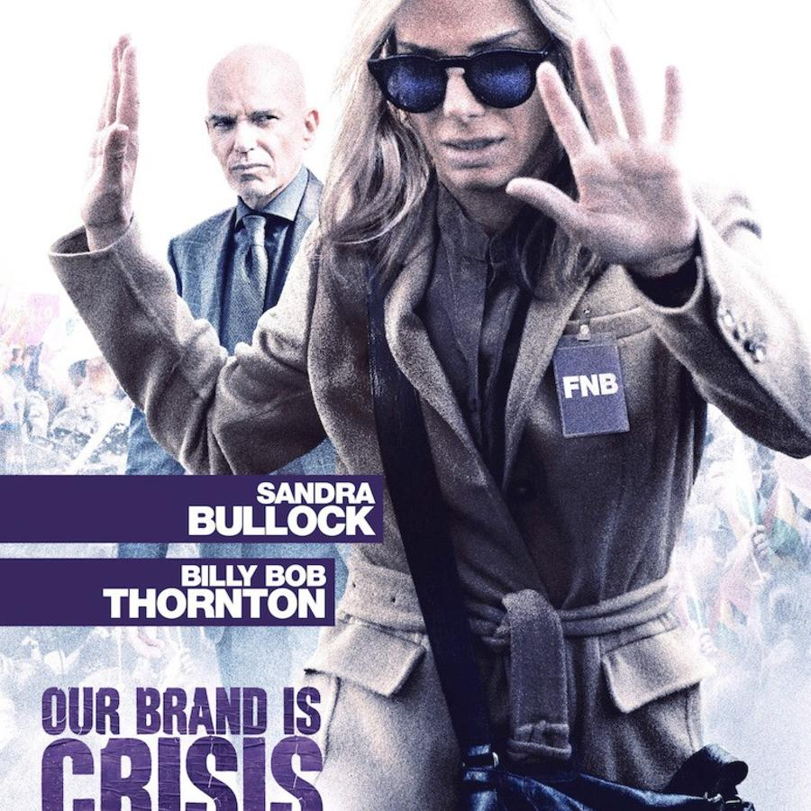 "Póster de la película ""Our Brand Is Crisis""."