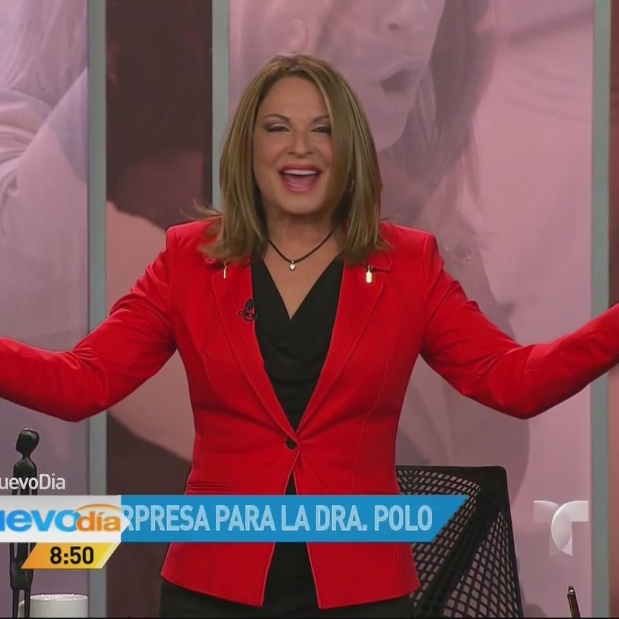 Doctora Ana María Polo celebra cumpleaños 2014 con su equipo de Caso Cerrado