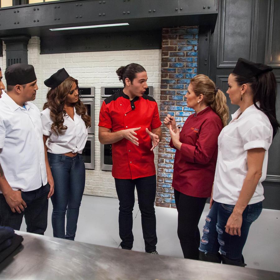 Equipo de Judith Grace con James Tahhan en Top Chef Estrellas