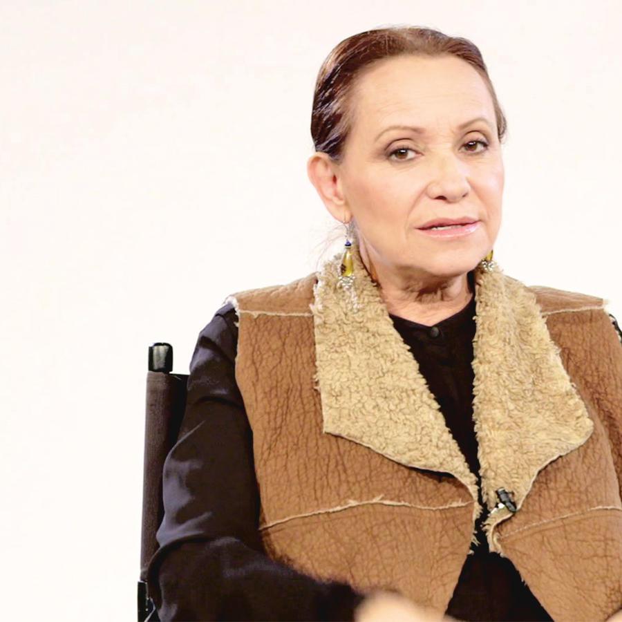 Adriana Barraza, Irene Medrano, entrevista, Dueños del Paraíso