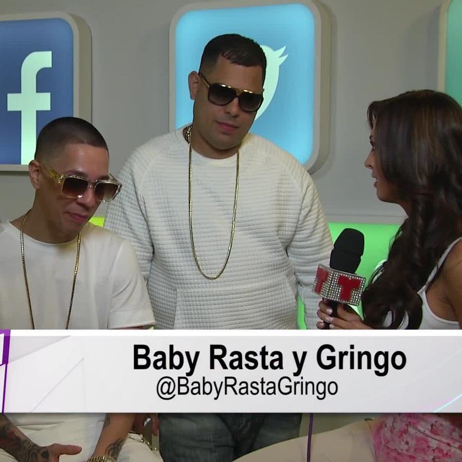 Baby Rasta y Gringo en entrevista en Premios Billboard 2015