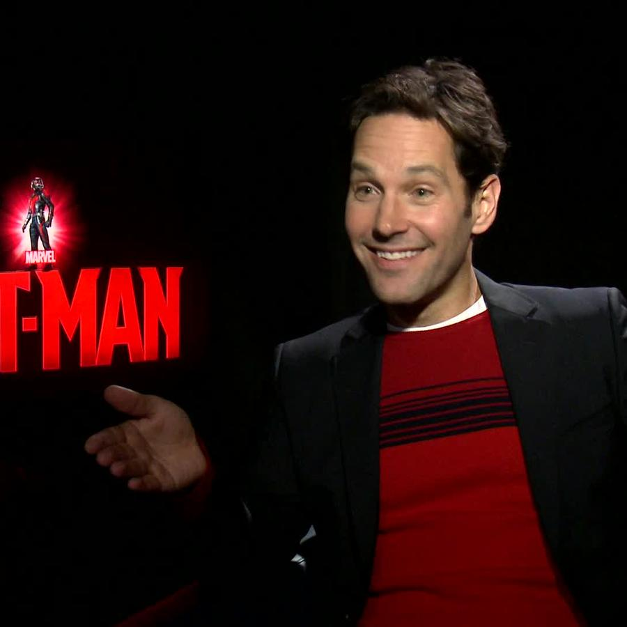 "Paul Rudd, el actor de la película ""Ant-Man"""