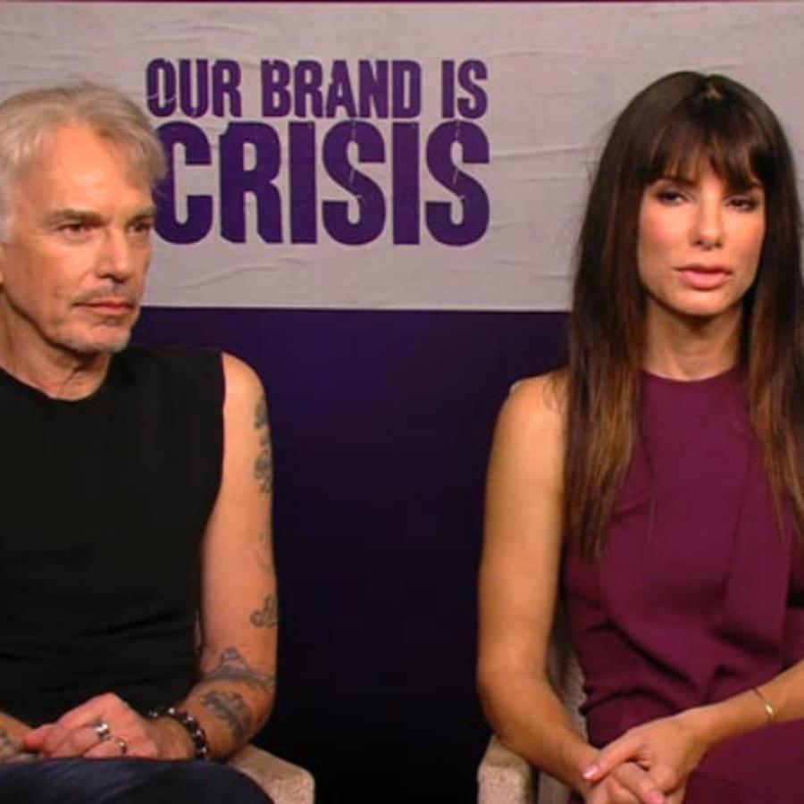 """Entrevista exclusiva con Sandra Bullock y Billy Bob Thornton de """"Our Brand Is Crisis"""""""