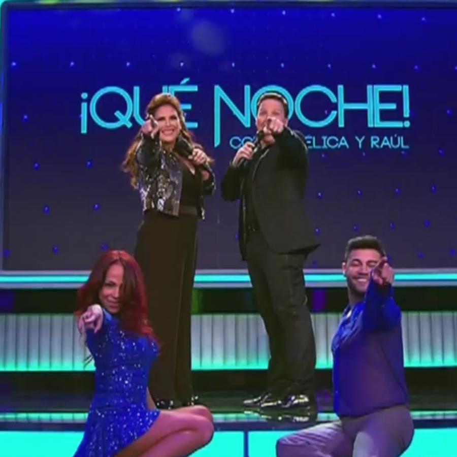 """Gran estreno de """"¡Qué Noche! Con Angélica y Raúl"""""""