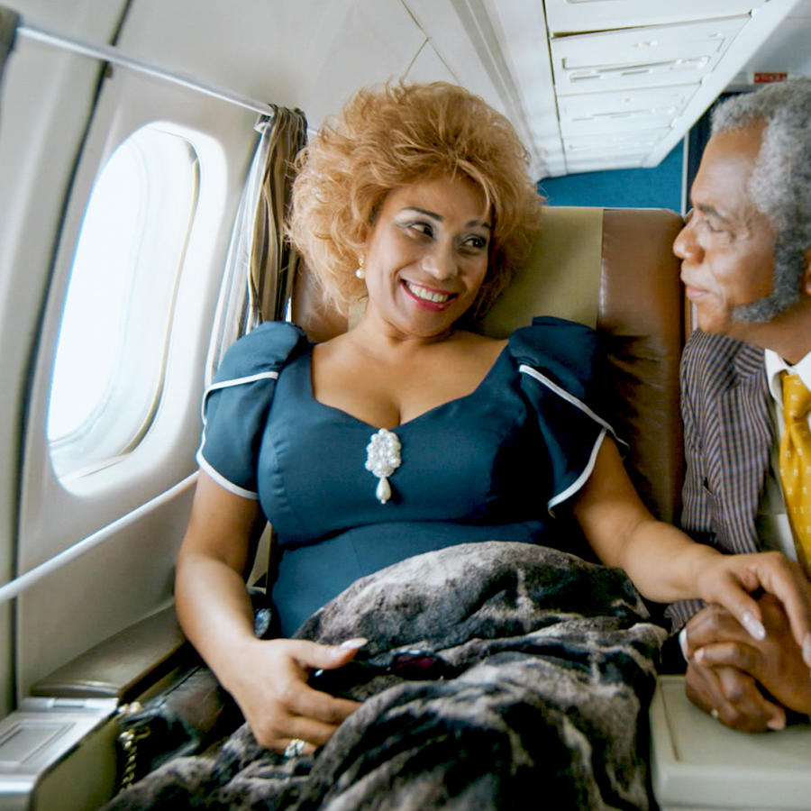 Aymee Nuviola y Willie Denton en Celia