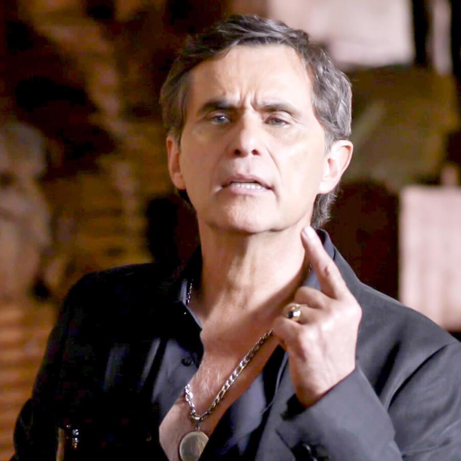 Humberto Zurita, El Centauro, molesto, La Querida del Centauro