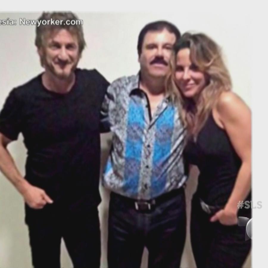 Kate Del Castillo, El Chapo y Sean Penn