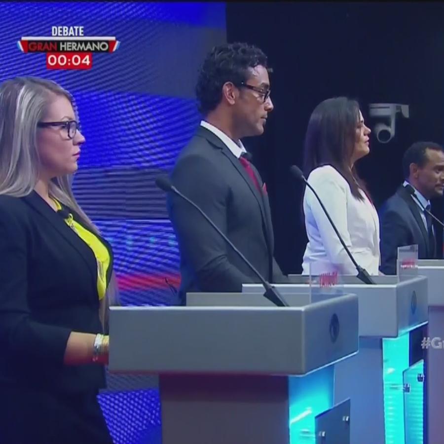 Finalistas en el debate de Gran Hermano