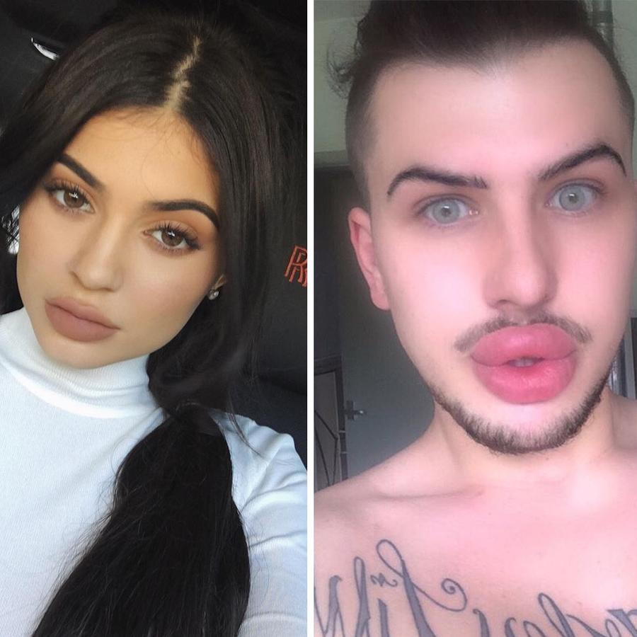 James Holt & Kylie Jenner