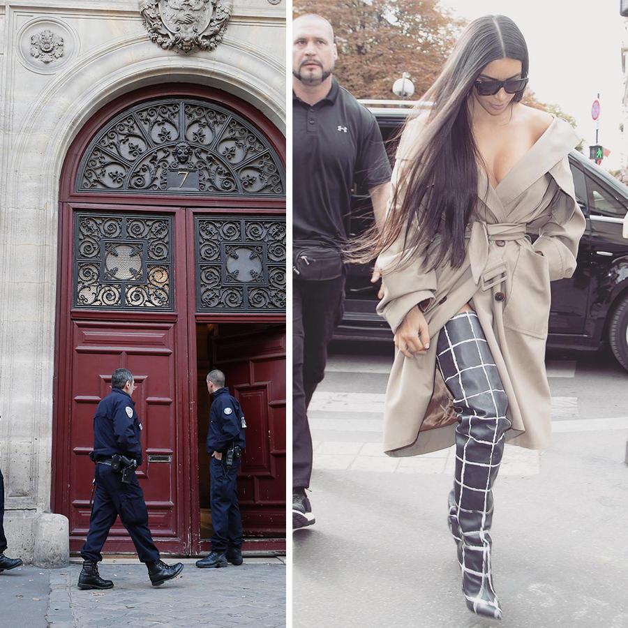Kim Kardashian en París