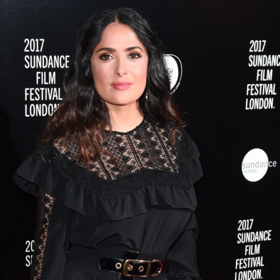 "Salma Hayek en la premiere de ""Beatriz at Dinner"""