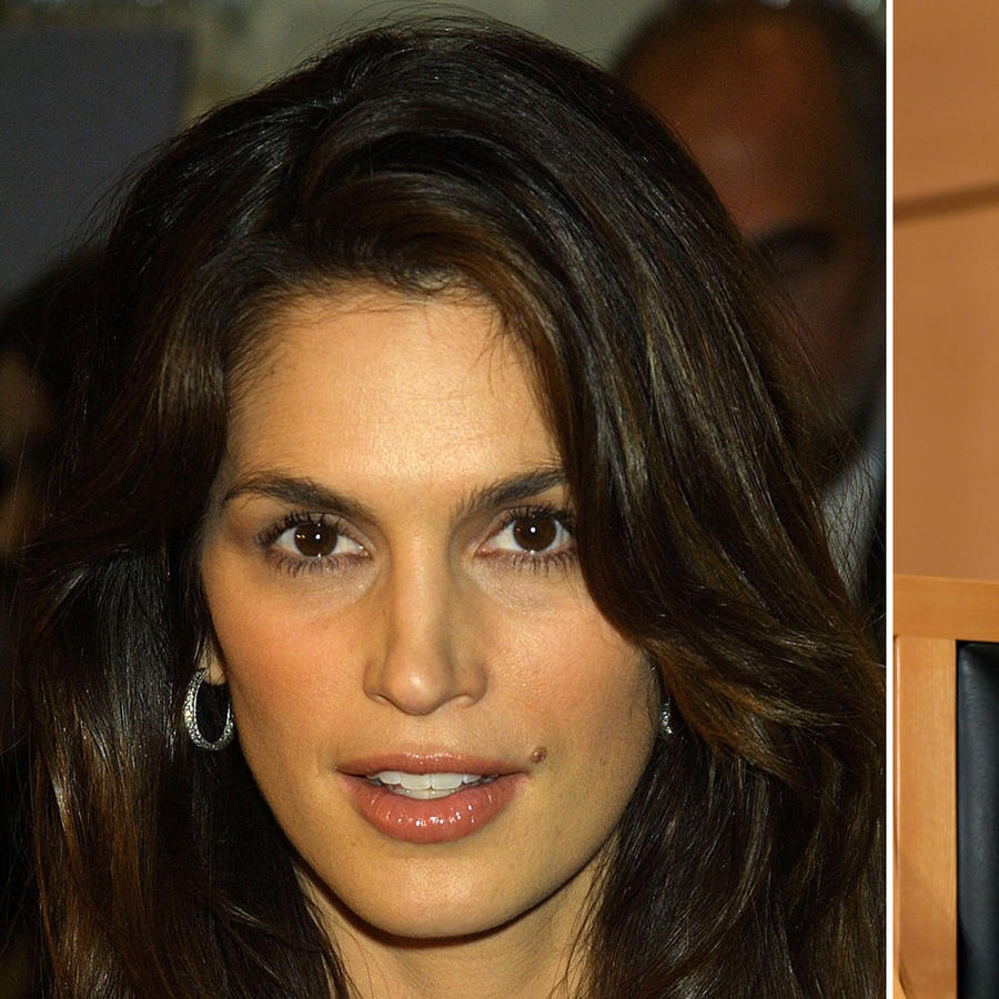 Cindy Crawford y Angelina Jolie
