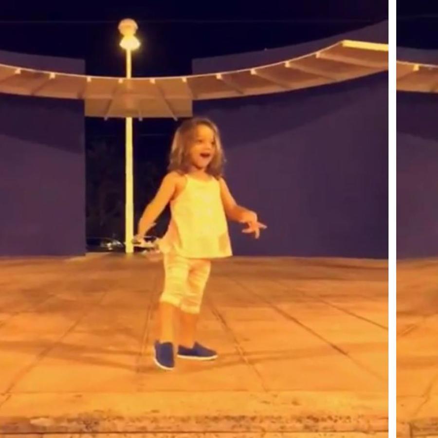 Alaïa bailando