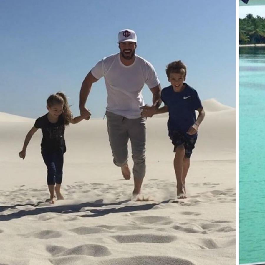 William Levy y sus hijos
