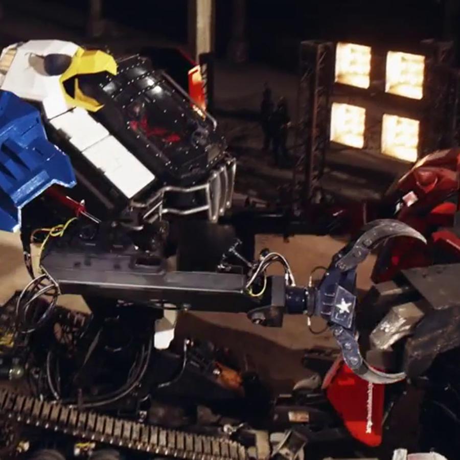 Así fue la épica pelea entre dos robots gigantes