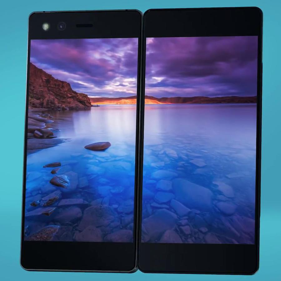 ZTE lanza un extraño smartphone con dos pantallas