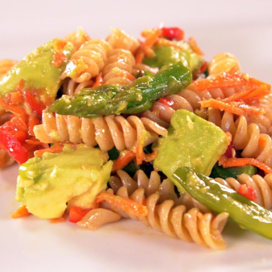 Receta: ensalada de pasta, rica en vitaminas