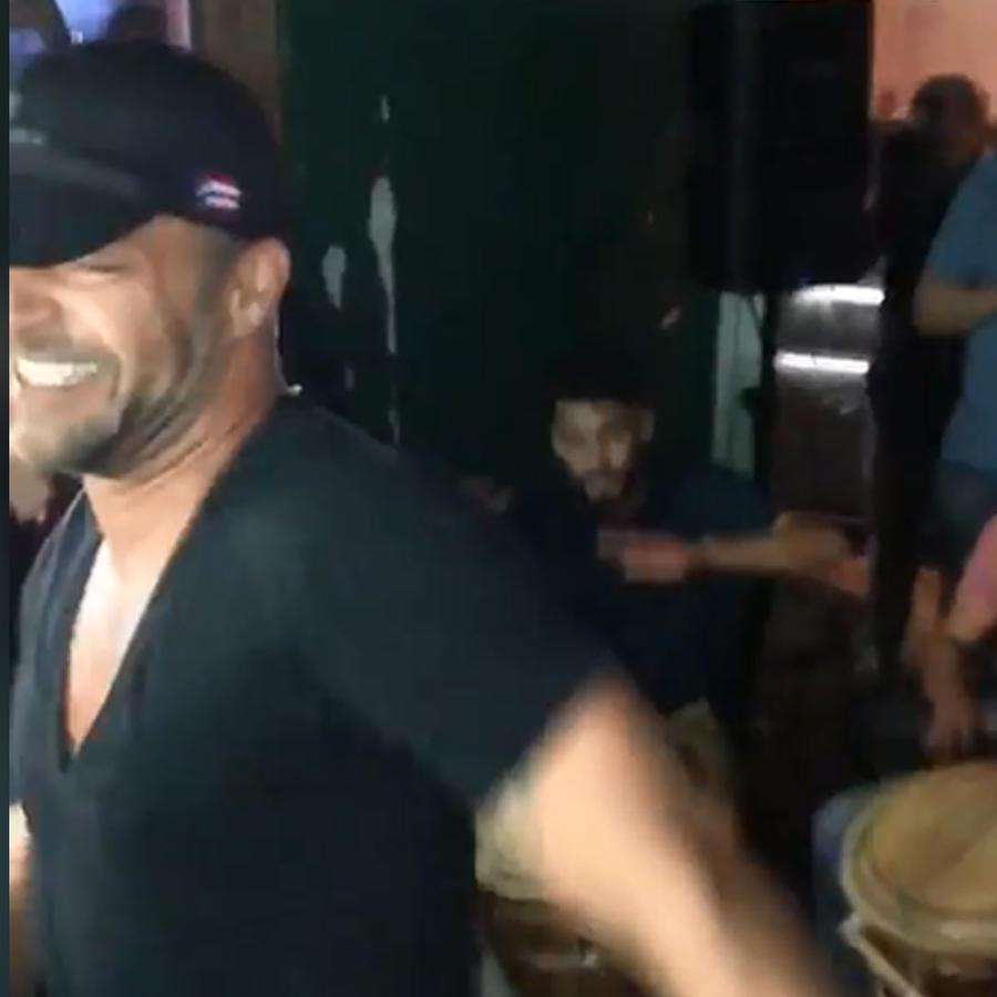 Ricky Martin sacudió su sexy trasero