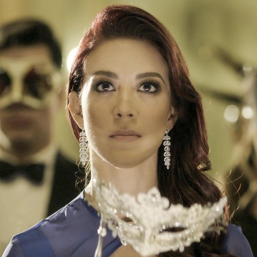 Fernanda Castillo y Raúl Médez En Enemigo Íntimo