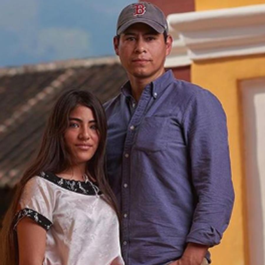 """Diego Huerta y Adriana, """"la niña más bonita de México"""""""