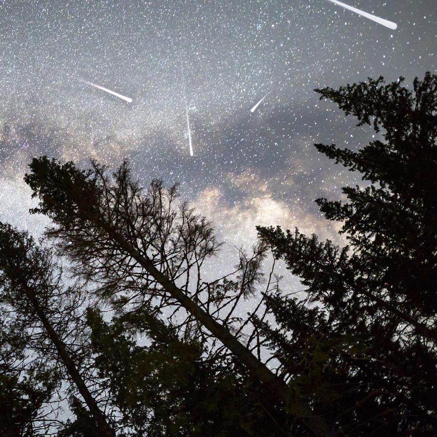 Llega la lluvia de estrellas Líridas