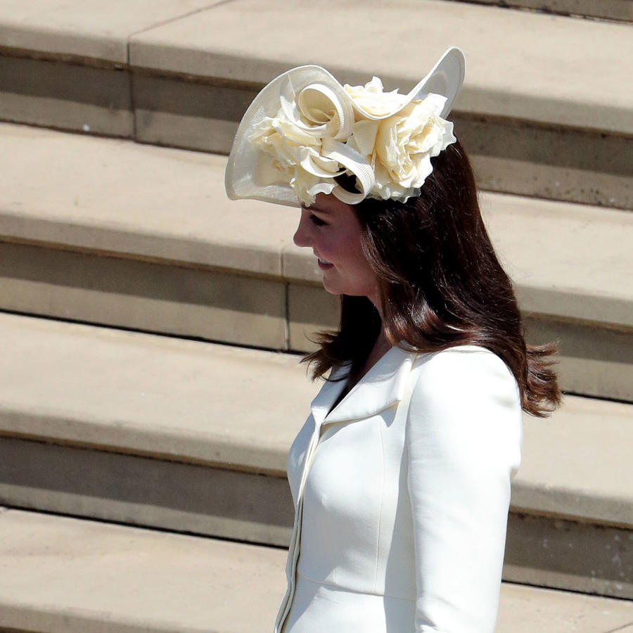 Kate Middleton en la boda del príncipe Harry