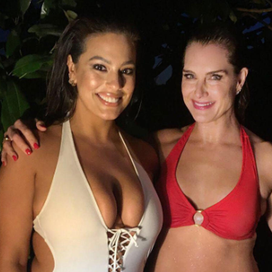 Brooke Shields y Ashley Graham
