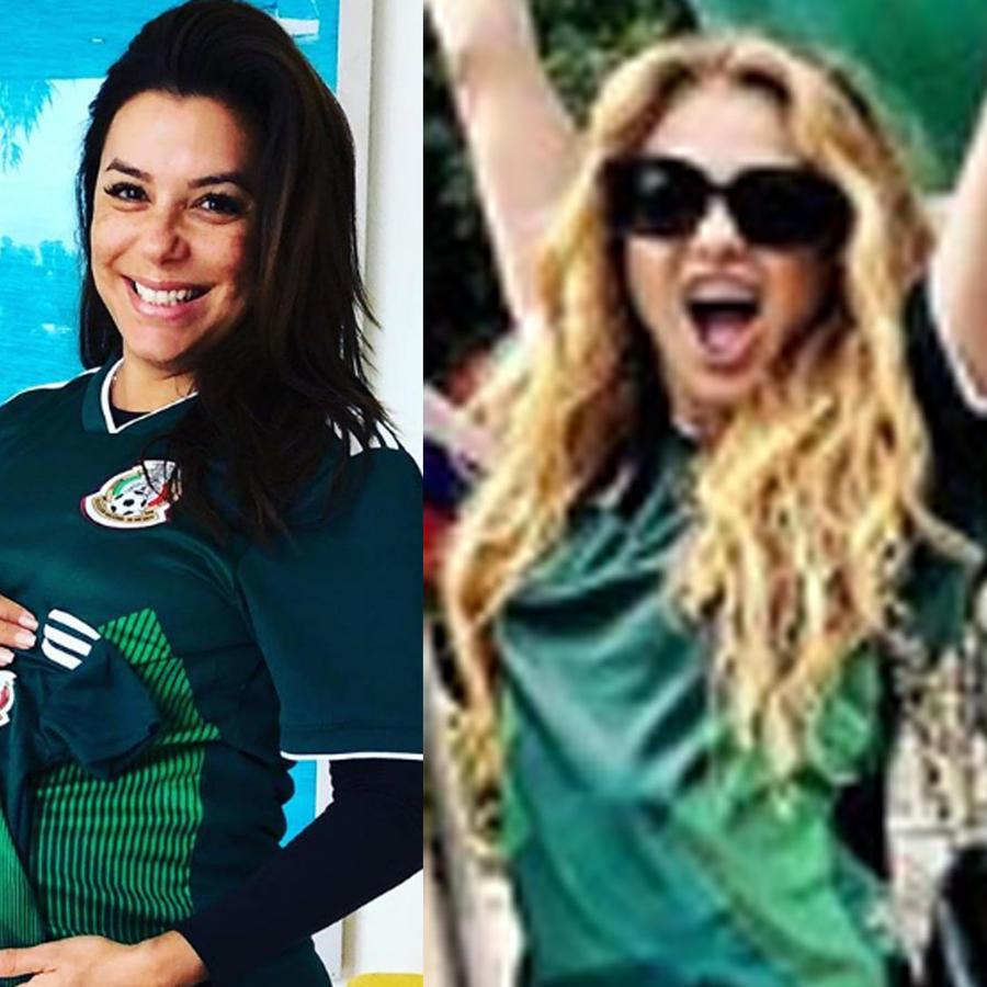 Los famosos celebraron la victoria del Tri en el Mundial