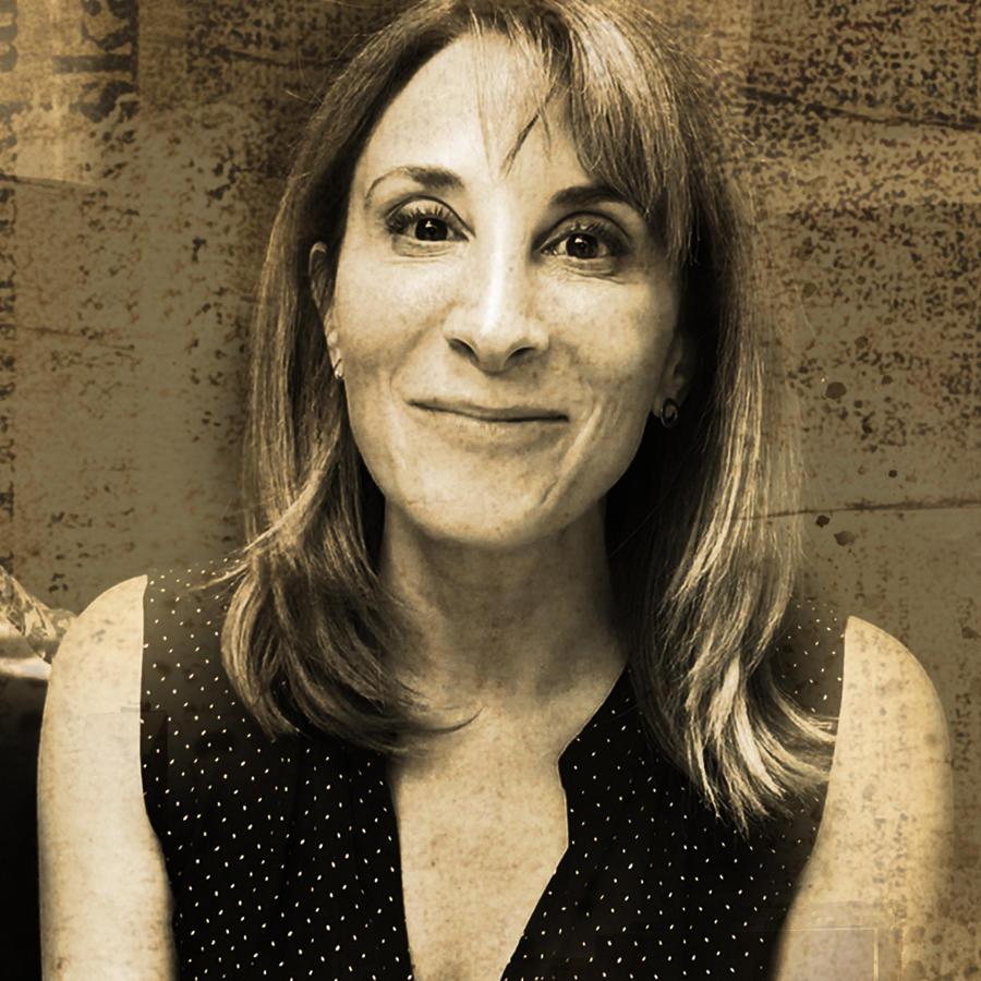 Mónica Huarte en Falco